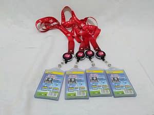 gantungan ID card, Spesialis Print Tali Lanyard Bergaransi & Gratis Ongkir