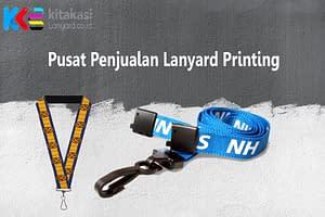 Pusat Penjualan Lanyard Printing, Spesialis Print Tali Lanyard Bergaransi & Gratis Ongkir
